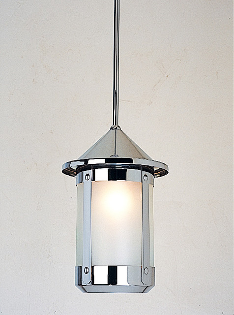 Arroyo craftsman berkeley outdoor pendant modern for Modern craftsman lighting