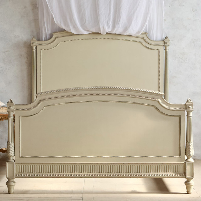 Eloquence One Of A Kind Vintage Full Bed French Off White