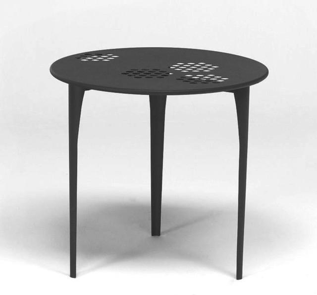 pattern gartentisch bauhaus look outdoor. Black Bedroom Furniture Sets. Home Design Ideas