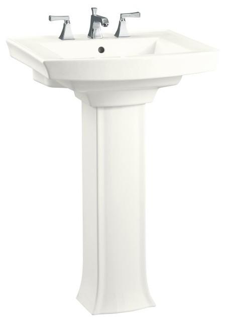 KOHLER Archer Pedestal Lavatory with 8