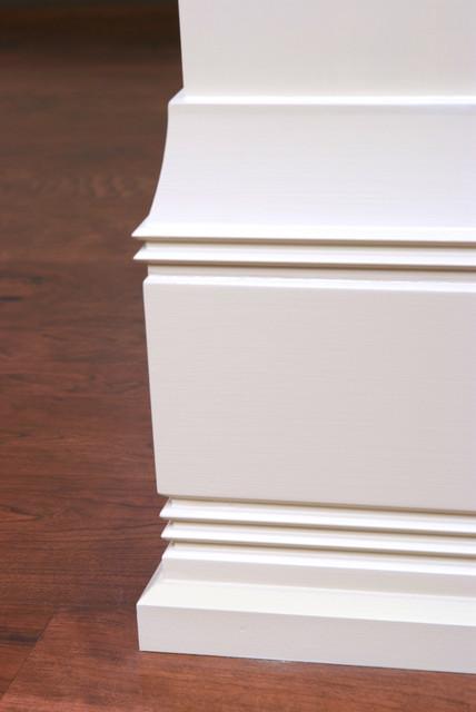 Custom Baseboard And Shoe Molding Detail Craftsman