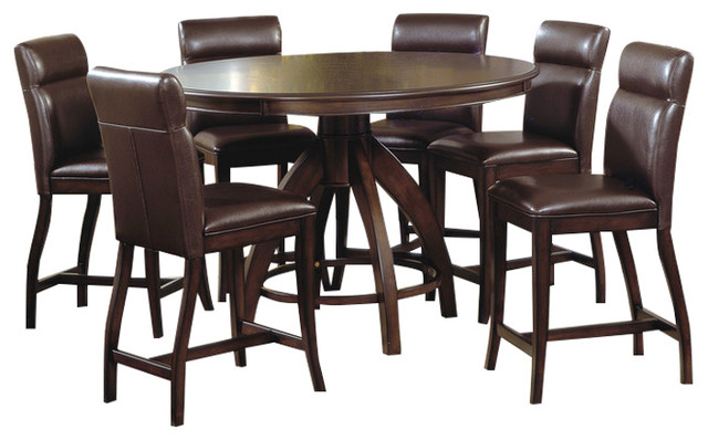 Nottingham 7 Piece Counter Height Dining Set  : transitional dining sets from www.houzz.com size 640 x 398 jpeg 63kB
