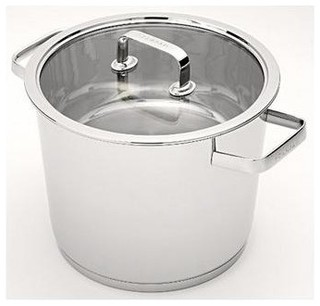 Scanpan konik stainless steel stockpot 24cm 6 6l for Decor 6l container