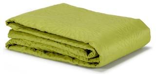 muli couvre lit vert 180x250cm contemporain couvre lit et parure couvre lit par alin a. Black Bedroom Furniture Sets. Home Design Ideas
