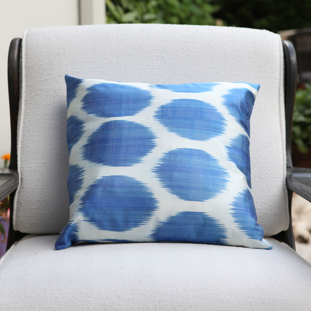 Decorative Ikat Pillowcover - Eclectic - Decorative Pillows - other metro - by Deconceptshop