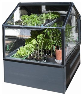 STC Grow Camp Greenhouse 4x4 - Rustic - Greenhouses - by Living Outfitters