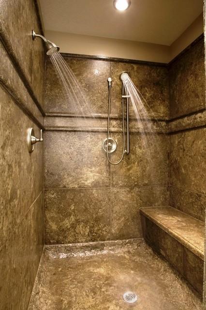 Concrete Shower Design