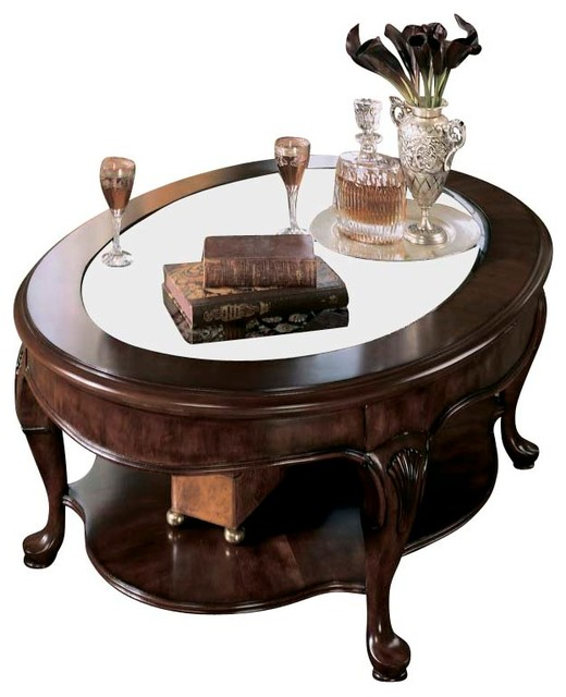 American Drew Cherry Grove Coffee Table Set In Antique