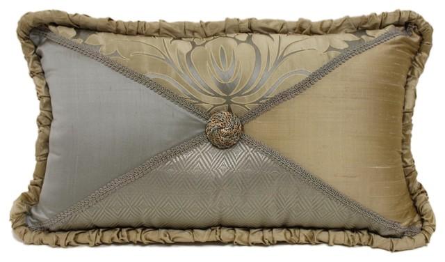 Decorative Victorian Pillows : Austin Horn Classics Duchess Boudoir Button Pillow - Victorian - Decorative Pillows - by Sherry ...