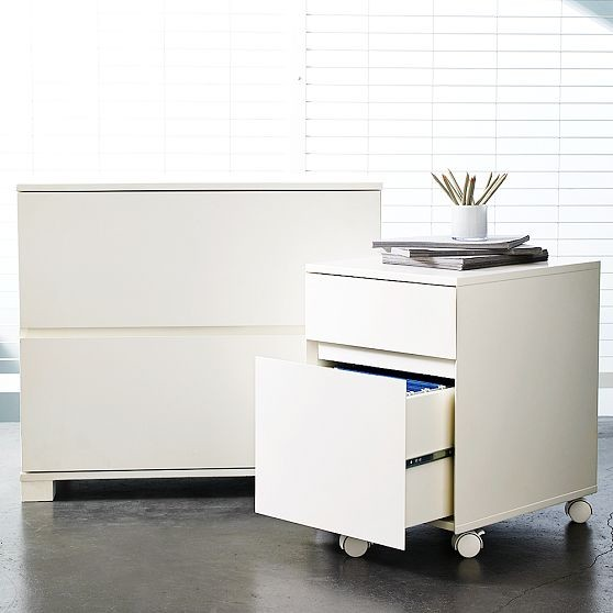 Classic Lateral File Cabinet - Contemporary - Filing Cabinets - by West Elm