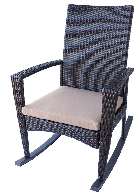 Porch Rocking Chairs Modern Outdoor Rocking Chairs san go by Eurol