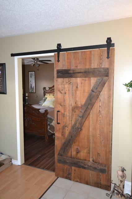 Custom sliding barn door for Farmhouse sliding door