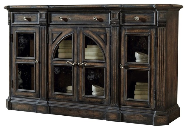 Pulaski Accentrics Home Delmar Sideboard, Aged - Buffets And Sideboards - by Bedroom Furniture ...