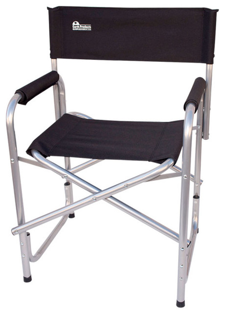 "Earth ""Extra Heavy Duty"" Short Outdoor Folding Directors Chair Co"