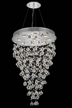 Elegant Lighting 2006d18c Led Rc Chandelier From The