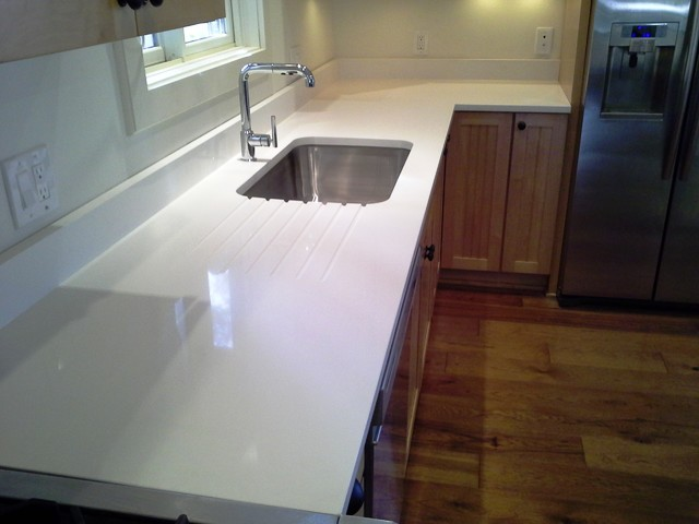 3cm Arctic White From Q Quartz Modern Other Metro By