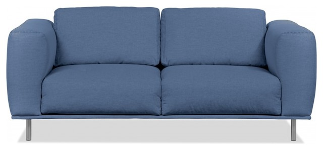 2 sitzer sofa liberty blau modern sofas by. Black Bedroom Furniture Sets. Home Design Ideas