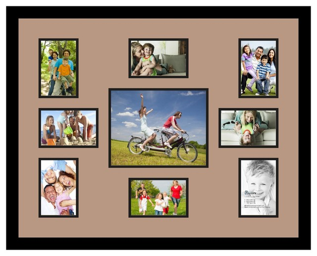 Arttoframes collage photo frame with multiple openings and for Modern collage frame
