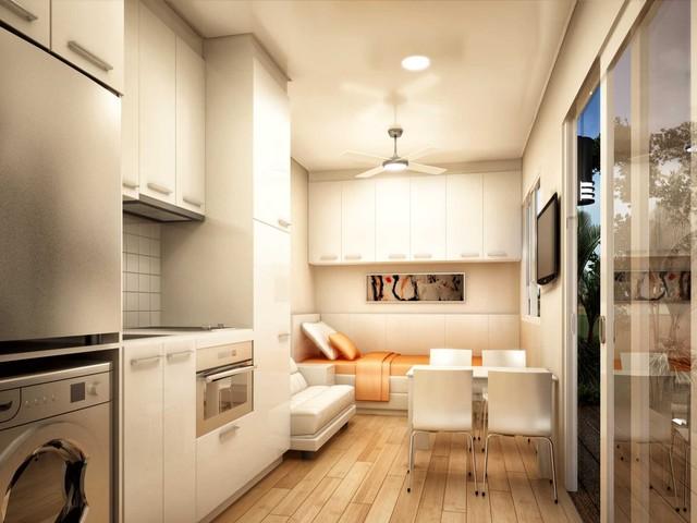 Santa fe granny flats modular home modern brisbane for Prefab granny flat
