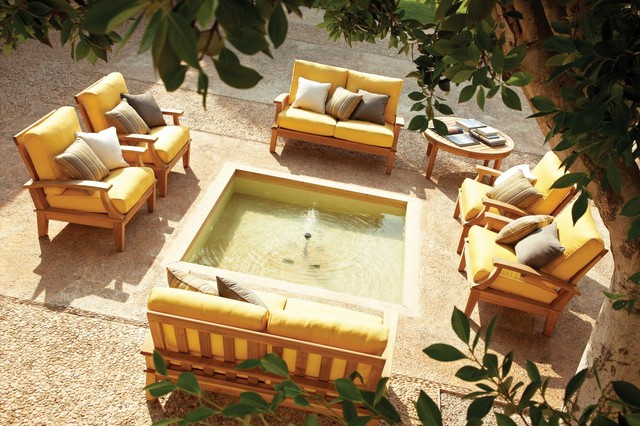 Patio Furniture Traditional Outdoor Sofas sacramento by Green Acres N