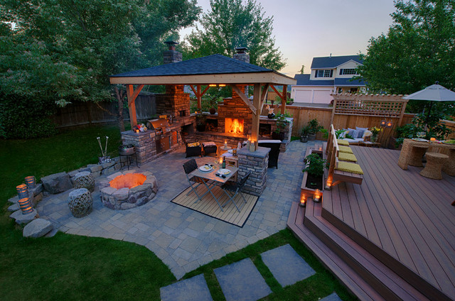 Mcaravey property contemporary portland by paradise for Paradise restored landscaping exterior design