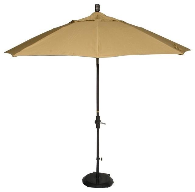 market patio umbrella in brass contemporary outdoor