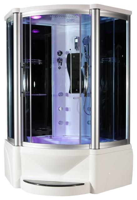 eagle bath ws 609p steam shower enclosure w whirlpool. Black Bedroom Furniture Sets. Home Design Ideas