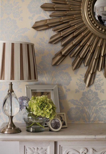laura ashley designer series wallpaper in tatton. Black Bedroom Furniture Sets. Home Design Ideas