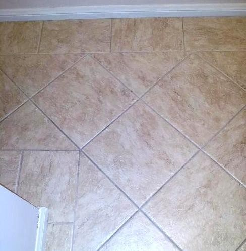 Tile Border Diamond Pattern Traditional Los Angeles