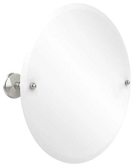 22 Round Tilt Mirror Transitional Bathroom Mirrors By Avondale Decor Llc
