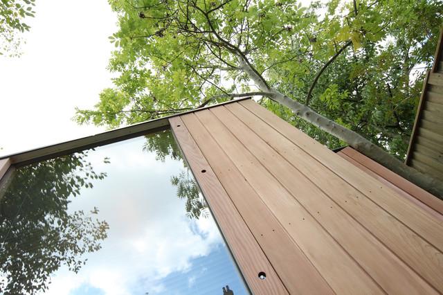 3 bay modular garden office muswell hill for Modular garden rooms