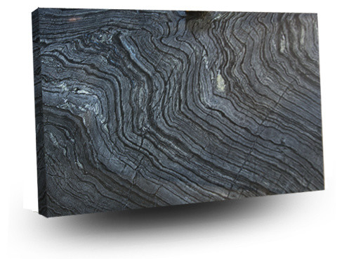 Tree Black Marble Modern Kitchen Countertops Chicago