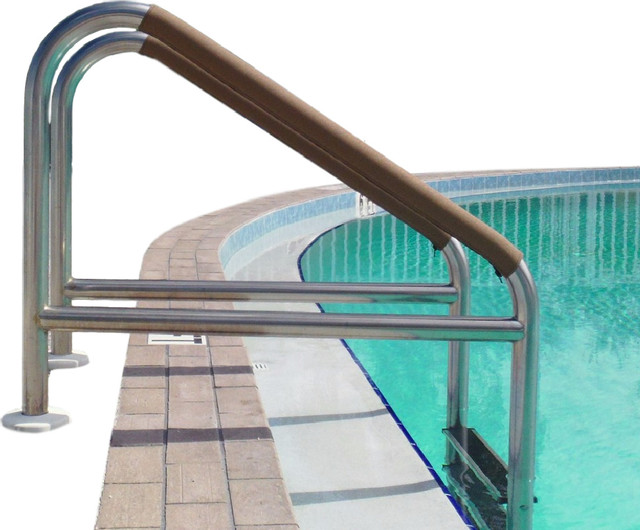 "Pool Handrail Cover by Secure-Grip 38.5"" - Traditional - Hot Tub And Pool Accessories - by Med ..."