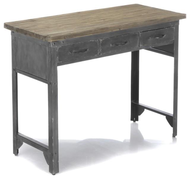 Jackson bureau industriel industriel meuble bureau et for Meuble de bureau 91