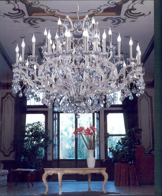 Murano Crystal Chandeliers