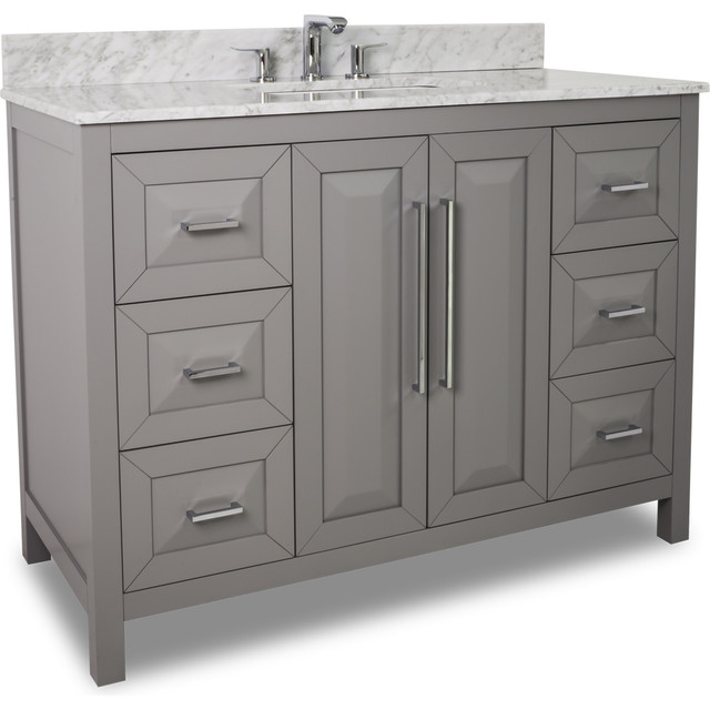 Lyn Design VAN100 48 T 48 Vanity Contemporary Bathroom Vanities And