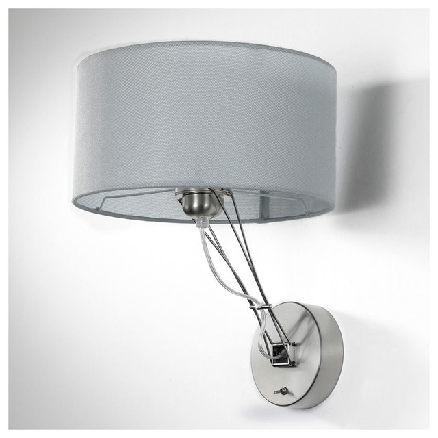 Contemporary Wall Sconce With Switch : Lizzy Wall Sconce W / On Off Switch - Modern - Wall Sconces - by Lightology