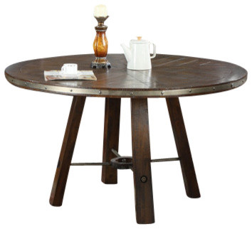 Castlegate dining table round traditional dining for Traditional dining table uk