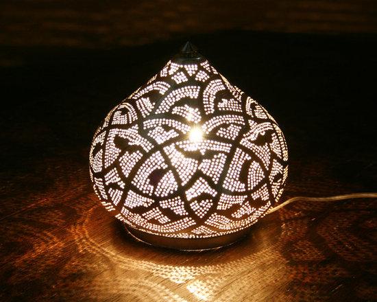 tischlampe filigrain large silver zenza m rchenhafte. Black Bedroom Furniture Sets. Home Design Ideas