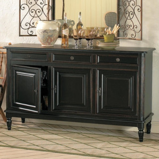 dehaviland 3 drawer console traditional buffets and sideboards
