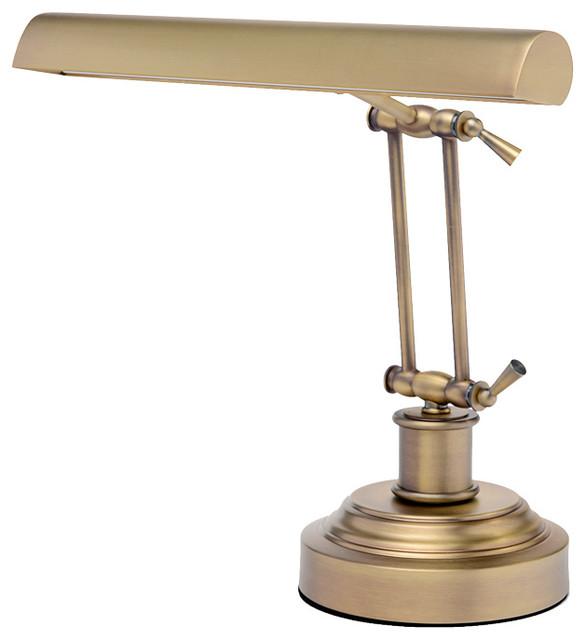 led piano lamp antique brass contemporary desk lamps
