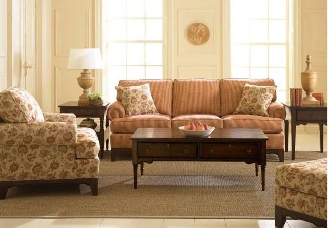 3 Piece Living Room Sofa Set: Fireside 3 Piece Sofa Set