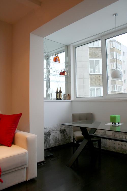 Цены на совмещение балкона с комнатой..