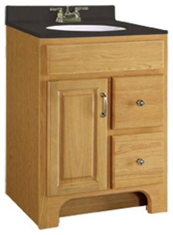 Richland 24 X 18 Inch Two Drawer Vanity Farmhouse Bathroom Vanities And Sink Consoles