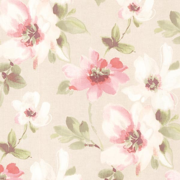 Lynette Rose Watercolour Floral Wallpaper Traditional
