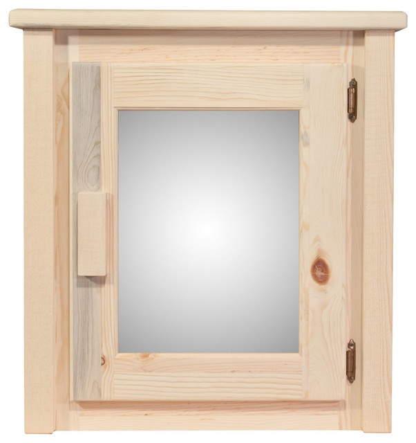 Montana Woodworks Homestead Medicine Cabinet Lacquered