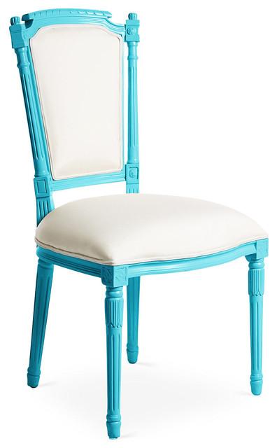 Bristol Outdoor Chair Blue White Modern Garden Lounge Chairs By One Ki