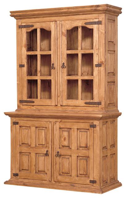 pine china cabinet buffet 3