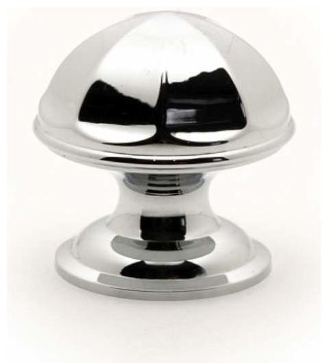 Richelieu Contemporary Brass Umbrella Top Knob 28mm Chrome ...