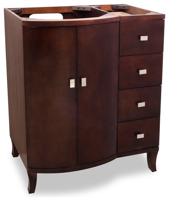 Lyn Design VAN067 Wood Vanity Without Top Traditional Bathroom Vanities